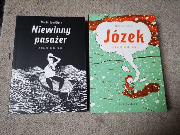 komiks Niewinny pasażer i Józek