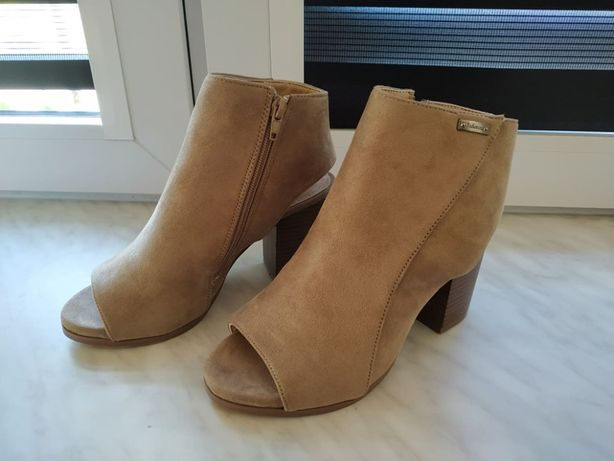 Eleganckie zamszowe buty