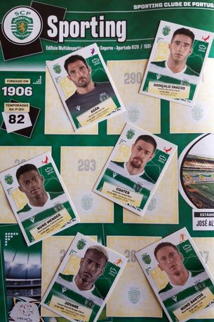 Colecção Futebol 2020-21 • 130 Cromos