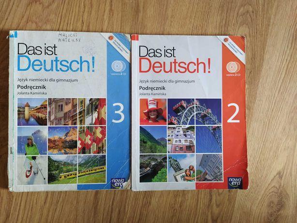 Das ist Deutsch.. 2 i 3.. podręcznik +cd.. jęz. niem.. wyd. Nowa Era