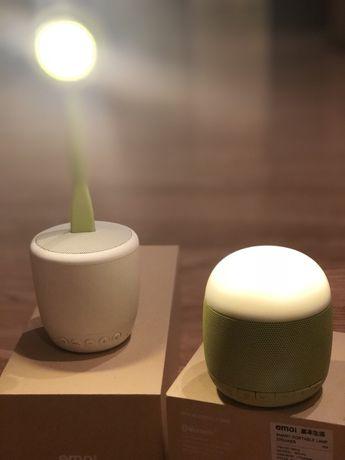 Колонка и светильник