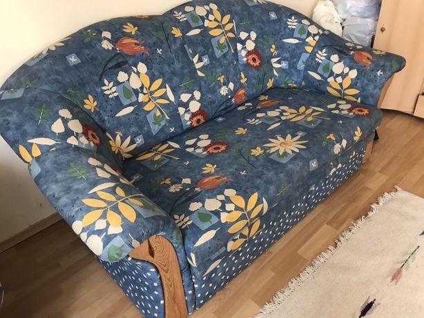 Zestaw wypoczynkowy sofa plus dwa fotele