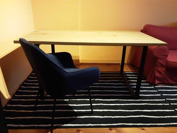 Stół + 6 krzeseł Hadrup Aabenraa Jysk + 6xpoduszki na siedzisko