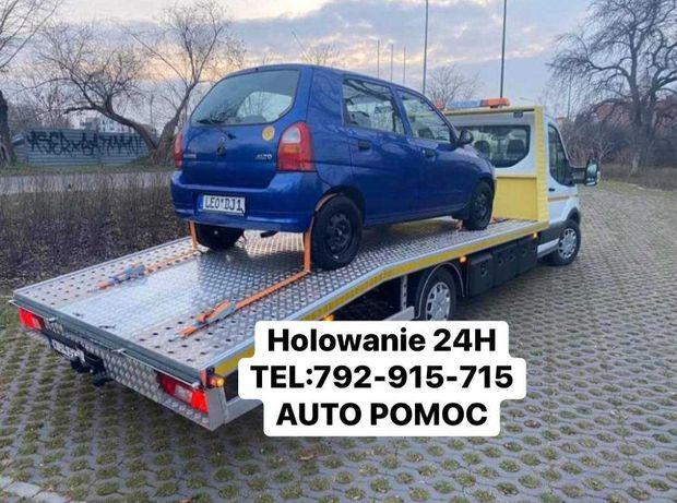 Tania Pomoc drogowa 24h Warszawa Holowanie Auto Laweta AutoPomoc