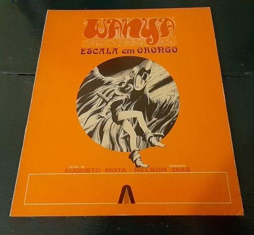 BD - Wanya Escala em Orongo - 1ª Edição 1973