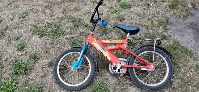 Rower dziecięcy, koła 16tki