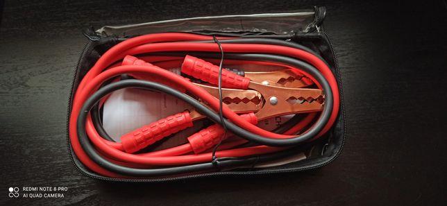 Kable rozruchowe do samochodu nowe ładowanie akumulatora