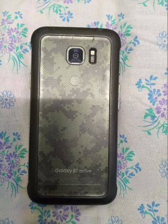 Samsung Galaxy s7 Active 32Gb SM-G891A Camo Green