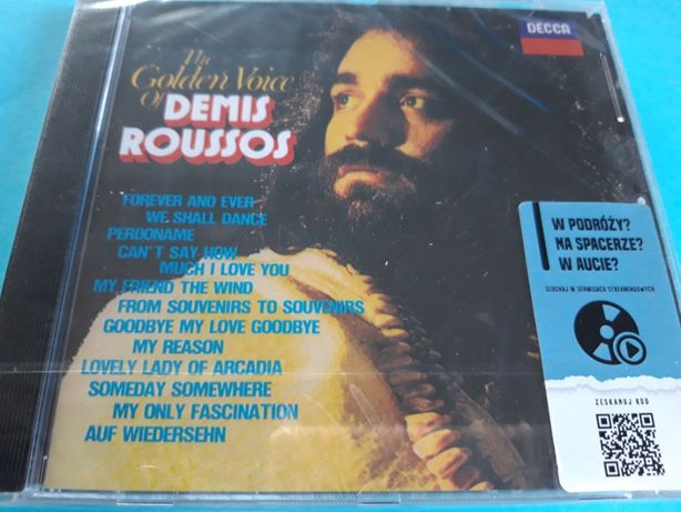 Demis Roussos – The Golden Voice , 1999 CD - nowa , folia