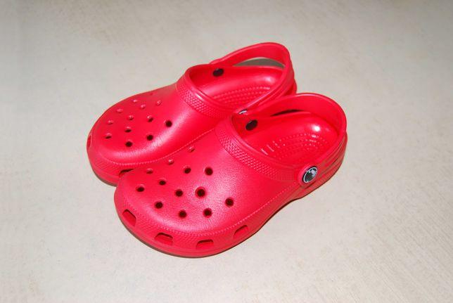 Crocs - детские шлёпанцы c12/c13 (29-30-й р., стопа 18,3 см), Италия