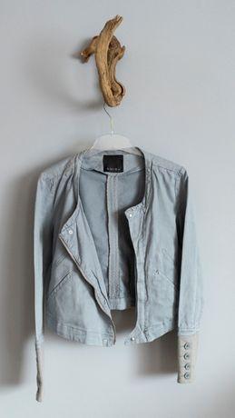 kurtka bluza ramoneska szara rozmiar M