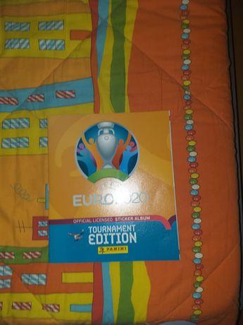 Caderneta euro 2020 tournament edition com 66 cromos