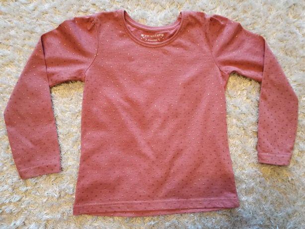 Śliczna bluzeczka dla dziewczynki PRIMARK, rozmiar 122, 6-7 lat