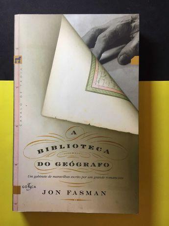 Jon Fasman - A Biblioteca do Geógrafo (Portes CTT Grátis)