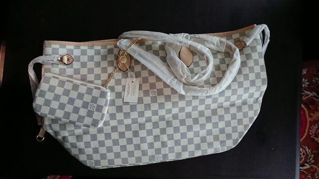 Torebka damska shopperka Louis Vuitton z workiem przeciwkurzowym z USA