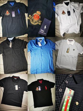 Koszulka męska Polo Ralph Lauren Tommy Hilfiger Gucci Premium