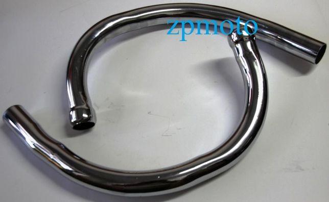 Колени выхлопной трубы (длинные) JAWA Ява 638 12 В 2 шт. Китай