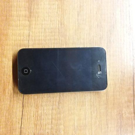 Iphone 4S A1387 skórzane etui uszkodzony