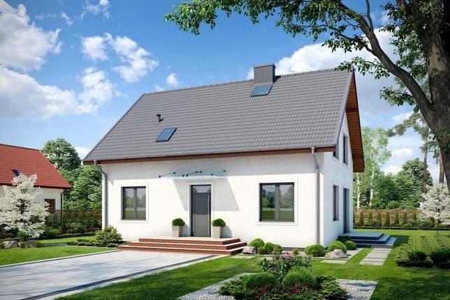 Projekt budowlany domu Werbenik 2