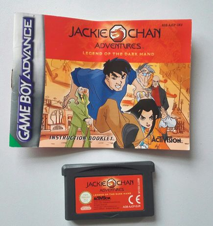 """Jackie Chan"" gra Nintendo GAMEboy Advance / SP / DS + instrukcja"