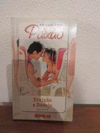 Livro duplo: Arte de amar e traição e desejo - Paixão, a força do amor