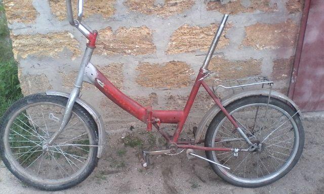 Велосипед салют СССР. Норма. На фото.