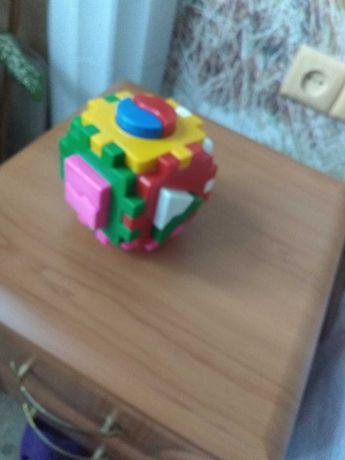 Кубик сортер большой