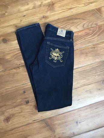 Spodnie jeans marki Ralph Lauren Sport rozmiar 27 stan idealny uzywane