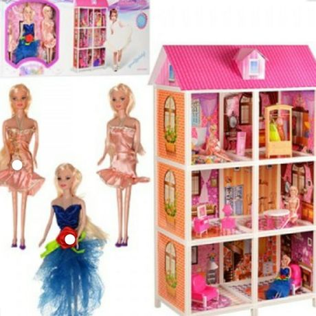Детские игрушки от поставщика,  кукла,  кукольный домик,  машина