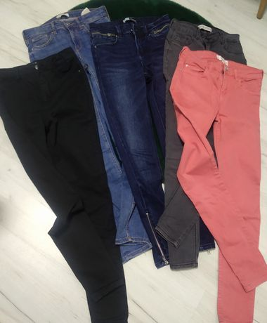 Spodnie 5 par ! - roz. 34