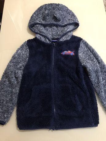 Кофта/реглан/свитер для мальчика плюшевая/плюш
