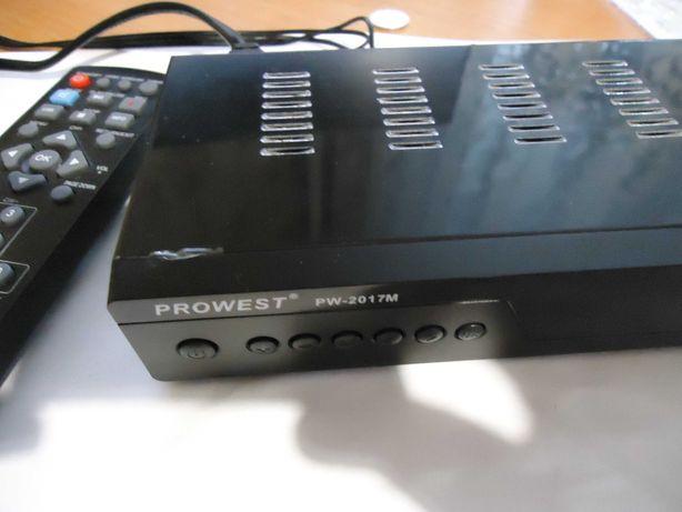 Ресівер тюнер приставка PROWEST PW-2017 DVB-T2