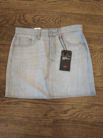 Spódniczka jeansowa Levi's Premium W31