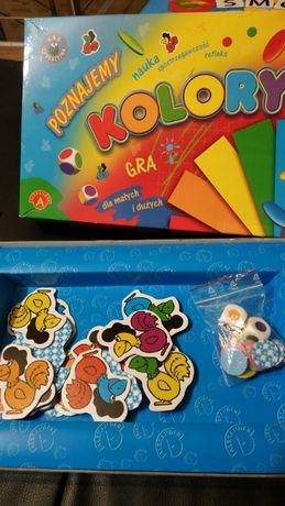 Gra edukacyjna kolory
