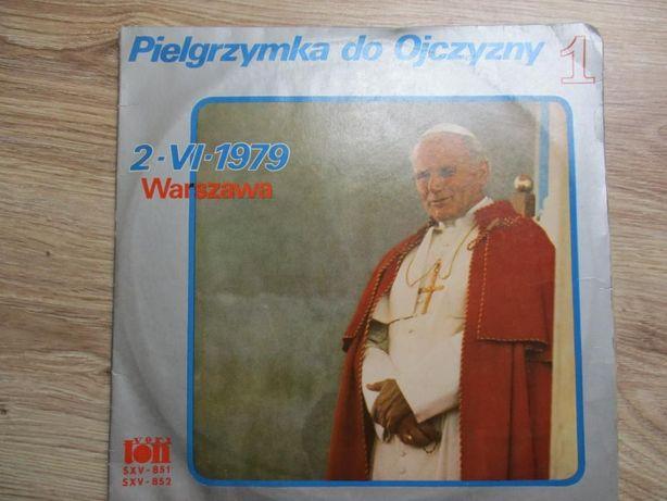 Pielgrzymka do ojczyzny JP II 2.VI. 1979 płyta winylowa 2 albumy
