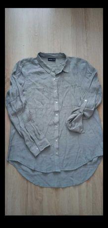 Koszula khaki asymetryczna