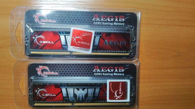 DDR3 8Gb (4x2) 1600 MHz 11-11-11-28-2N G.Skill Aegis PC3-12800