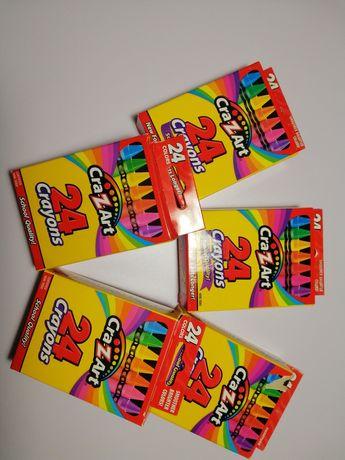 Восковые карандаши Cra-Z-art 24 Crayons 24шт.