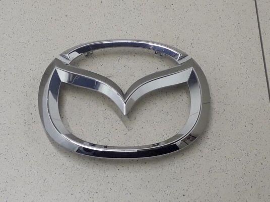 Эмблема надпись знак Мазда Mazda