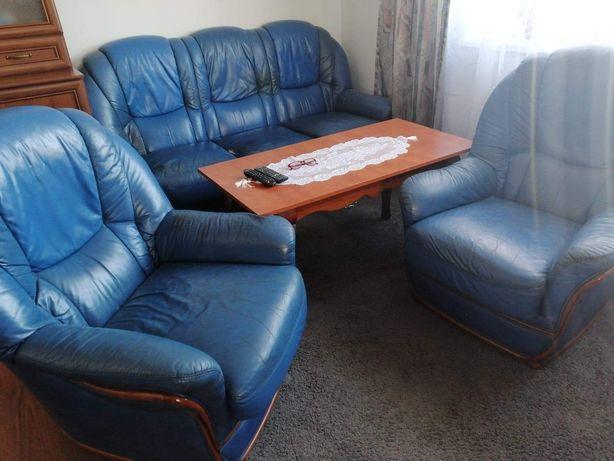 Komplet wypoczynkowy dwa fotele sofa