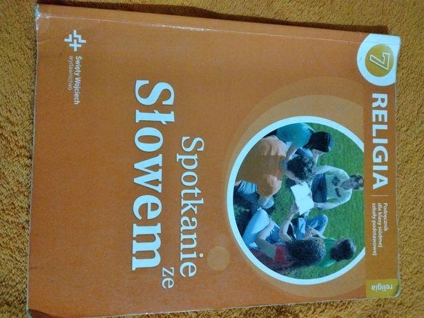 Religia klasa 7 książka