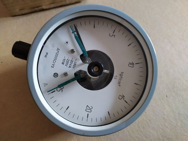 Манометр электроконтактный ДМ2005 0-25кгс, 0-40кгс