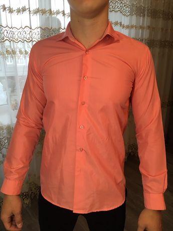 Рубашка персиковая / тенниска для подростка