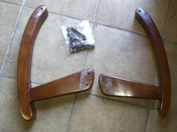 Drewniane podłokietniki, podłokietniki do krzesła