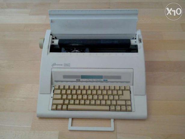 Máquina escrever elétrica
