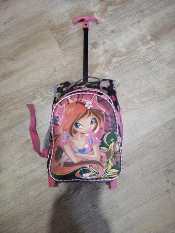 Портфель на колесах / чемодан детский