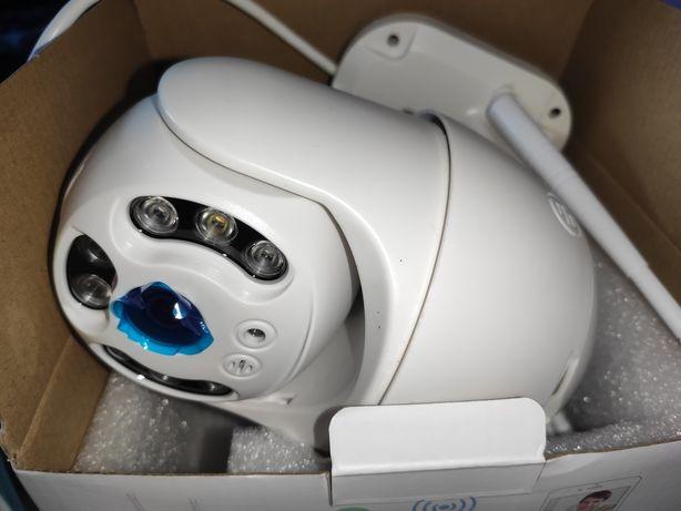 Kamera zewnętrzna PTZ obrotowa Besder, Hisseu IP66 WiFi