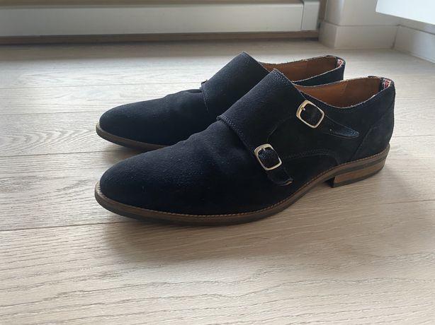 Eleganckie skórzane buty Tommy Hilfiger
