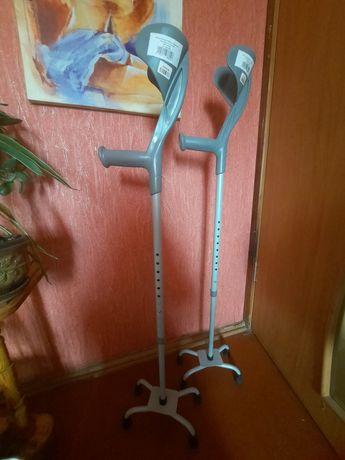 Милиці ліктьові Medok MED-02-036 з 4-ма ніжками №1