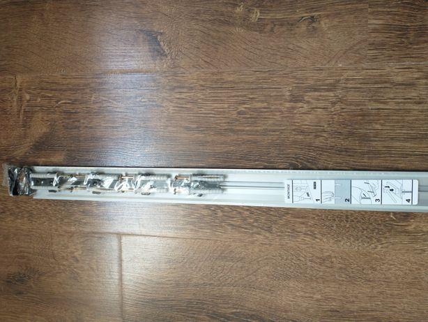 Listwa progowa, listwa dylatacyjna, profil progowy, próg, srebrny 41mm
